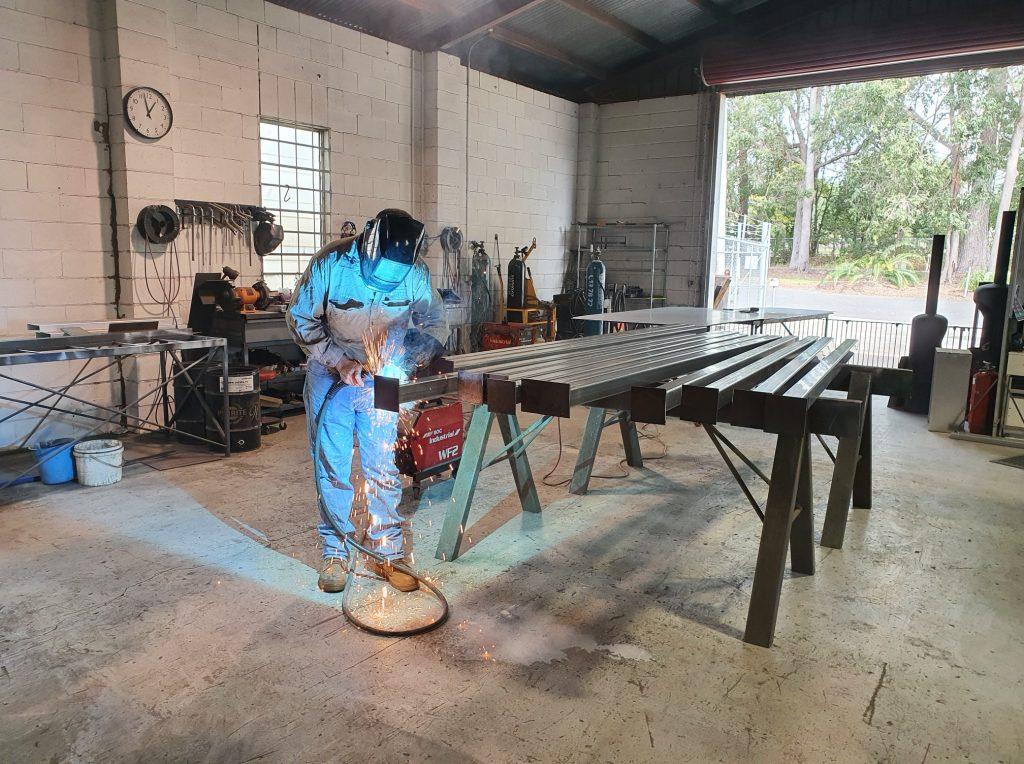 Stu welding posts